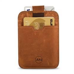 RFID-korthållare i läder för 6 kort 07538aa2aa756